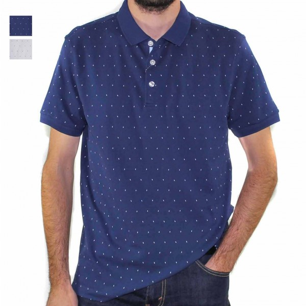Stafford Ellinson Short Sleeve Kirkham Polo HERO