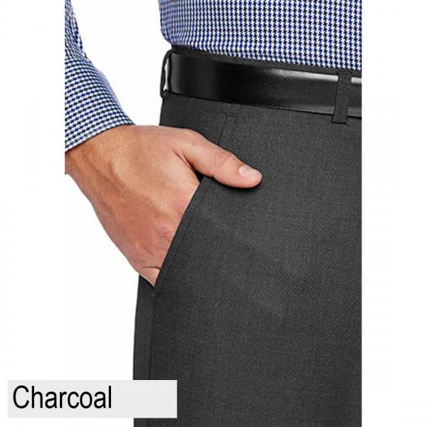 City Club Studio Meta Charcoal Front Pocket