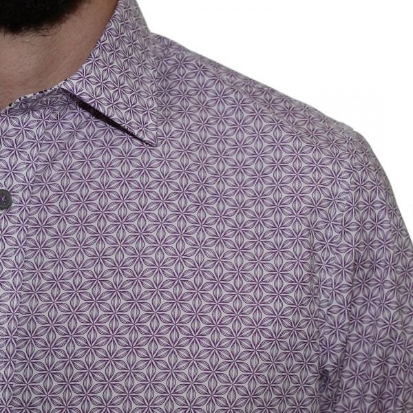 James Harper Long Sleeve Studley Floral Shirt