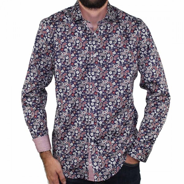 Thomson & Richards Paisley Shirt