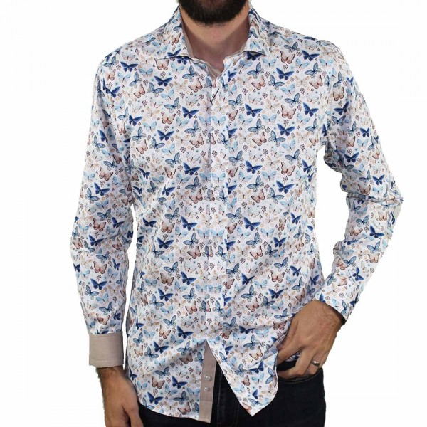 Thomson & Richards Butterfly Shirt