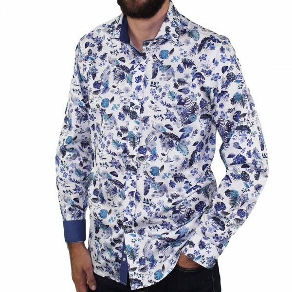 Thomson & Richards Flowers Shirt