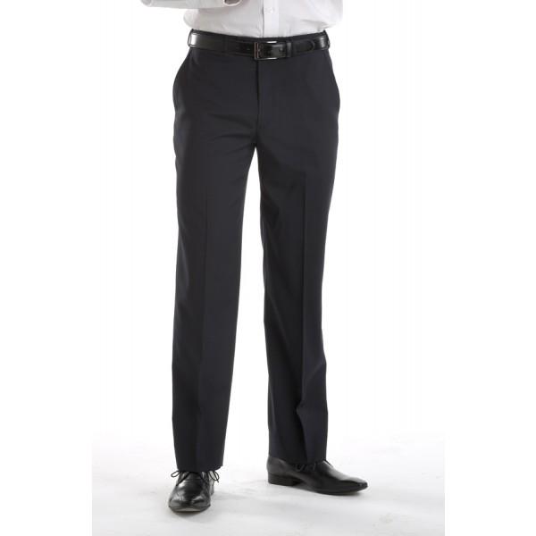 Bongardi Poly/Rayon Flat Front Pant