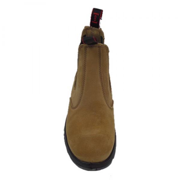 Redback Soft Toe Banana Suede Boots