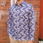 John Lennon By English Laundry Long Sleeve Connery Print Shirt