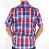 Ganton Checked Short Sleeve Shirt Back