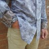 David Smith Silver Firework Long Sleeve Shirt