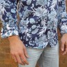 John Lennon By English Laundry Navy Fellani Shirt