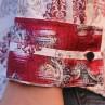 John Lennon By English Laundry Long Sleeve Cooper Print Shirt - Cuff