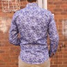 John Lennon By English Laundry Long Sleeve Paisley Print Shirt