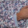 James Harper Long Sleeve Leaves Shirt  Cuff