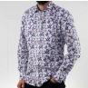 James Harper Long Sleeve Leaves Shirt  Side