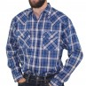 Impala Long Sleeve 2PKT Western Shirt Navy