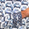 John Lennon By English Laundry Long Sleeve Cars Shirt Cuff