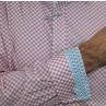 James Harper Long Sleeve Saxon Circle Shirt Cuff