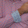 James Harper Long Sleeve Square Geo Shirt Cuff